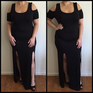 Dresses & Skirts - Sexy Black Maxi*