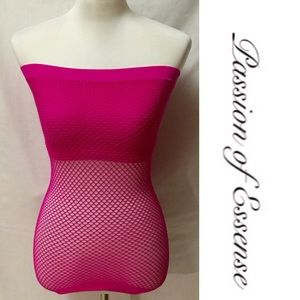 Anabel Collection Tops - Pink Sexy Tube Top