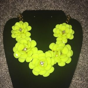 Neon Statement Necklace NWOT