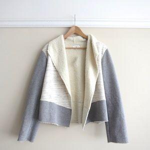 SUNDAY SALE - Lou & Grey jersey sherpa jacket