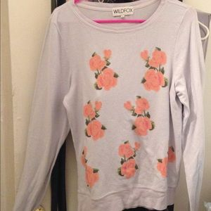 Wildfox Sweaters - Wildfox lavender floral  sweater