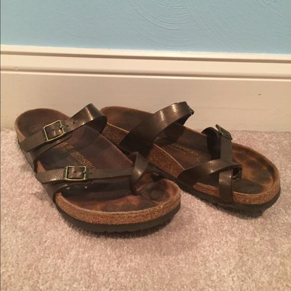 734e779c42c Birkenstock Shoes - Birkenstock Mayari Birko-Flor in Golden Brown