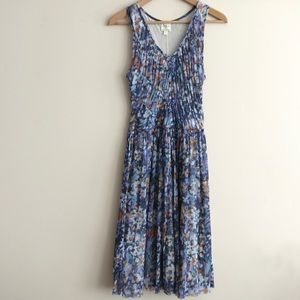 HUMP DAY SALE Floral anthropologie dress