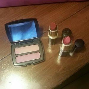 New! Lancome blush and lipstick set