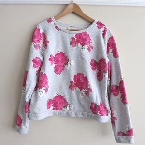 SUNDAY SALS - LOFT peony sweatshirt