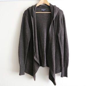 HUMP DAY SALE Betabrand brown 100% wool cardigan