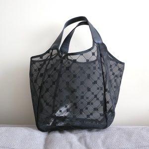 PRICE DROP Cruciani beach bag in black