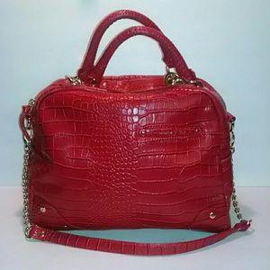 Olivia & Joy croc satchel