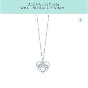 Tiffany & Co. Jewelry - Paloma's Venezia Goldoni Heart Pendant