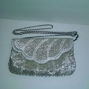 Handbags - Vintage beaded evening bag