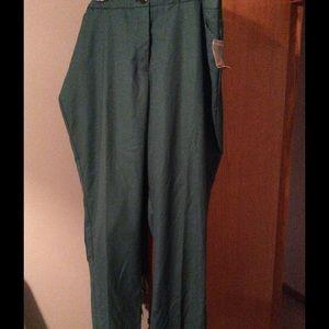 Plus Size Slim Leg Dress Pant