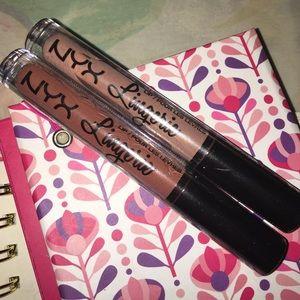2🆕 NYX Lingerie Lipstick Ruffle trim Satin Ribbon