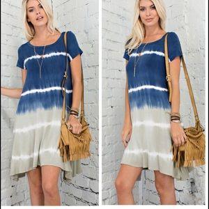 •tie dye dress•