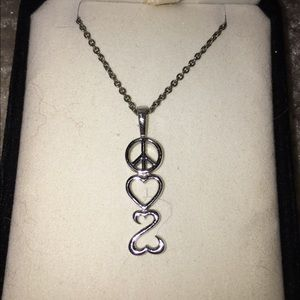Kay Jewelers Jewelry - open heart necklace from Kay Jewelers