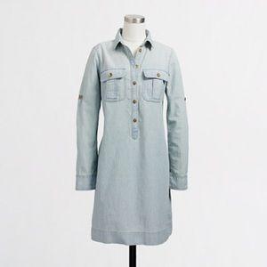 J.Crew Factory Dresses & Skirts - 💕HP 2/25/17💕J. Crew Factory Chambray Dress