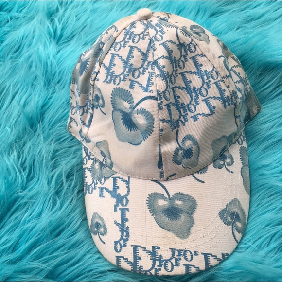Dior Accessories - DIOR MONOGRAM HAT CAP BLUE 1f318d7de03