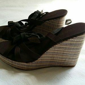Colin Stuart wedge sandals