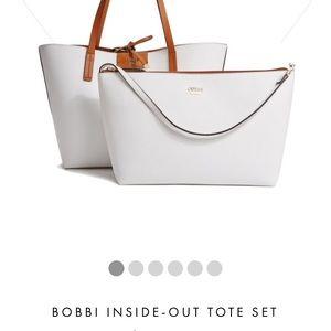 c81bbc5fa060 Guess Bags - Guess Bobbi inside-out tote handbag