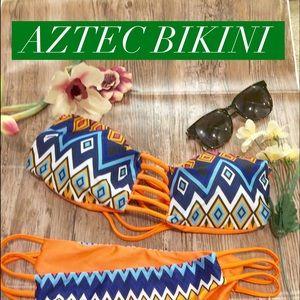 Influence Other - 🌿🌻 tribal print bikini