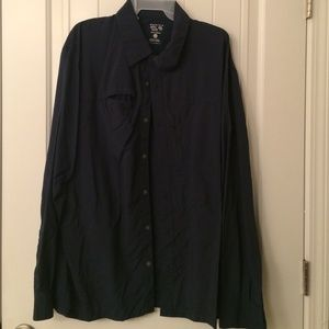Mountain Hard Wear navy button up