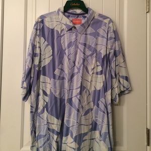 Blue Tommy Bahama button down