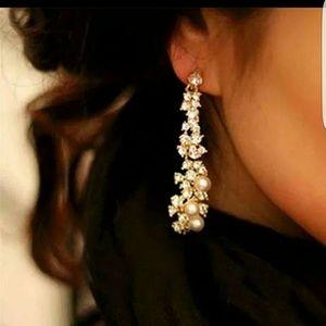 Jewelry - Final price New bridal chandelier crystal earrings