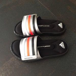 Superestrella 3g Sandalias De Los Hombres De Diapositivas Adidas CLCgpj