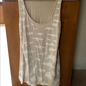 Express Sequined Tank-XS