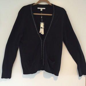 Lauren Conrad Sweaters - Black light weight cardigan.