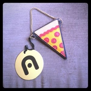Nila Anthony Accessories - Nila Anthony Pizza Keychain Coinpurse