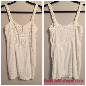 Free people NWT Eyelet nightie