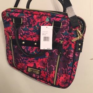 Betsy laptop bag/briefcase NWT