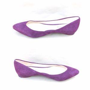 Alexandre Birman Shoes - Alexandre Birman Purple suede flats
