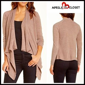 Sweet Romeo Sweaters - ❗1-HOUR SALE❗CARDIGAN Draped Cardi