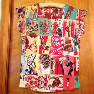 Boutique Tops - NWT carnival tee shirt size M