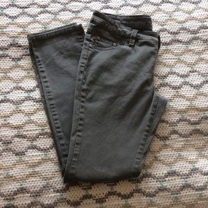 Highway Jeans gray skinny jeans.