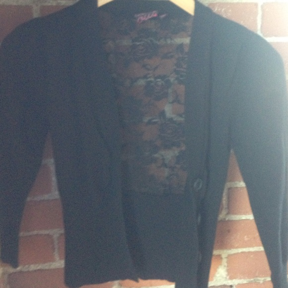 60% off Take Out Sweaters - Little black cardigan sweater from ...