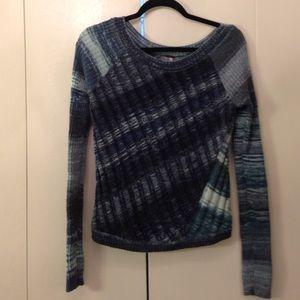🔷 Free People Diagonal Seam Sweater