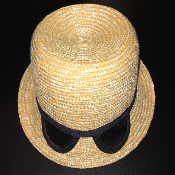 86ff0c011a66 kate spade Accessories | Straw Cat Eye Sunglasses Hat Nwt | Poshmark