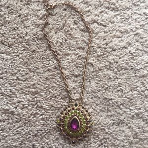 Jewelry - Multi colored jeweled necklace