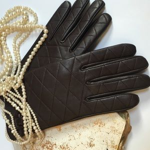 Centigrade Accessories - Brown leather gloves