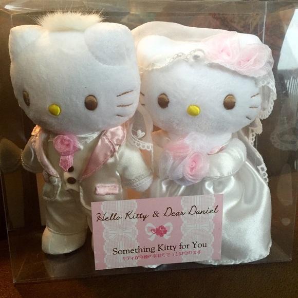 Sanrio Hello Kitty /& Dear Daniel Ring Tray Wedding Japan