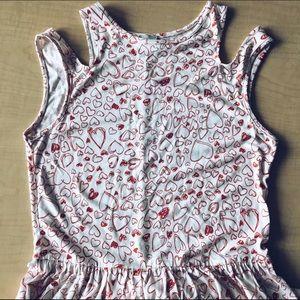 ASOS Heart Sleeveless Dress