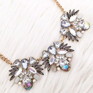 NY&Co iridescent statement necklace