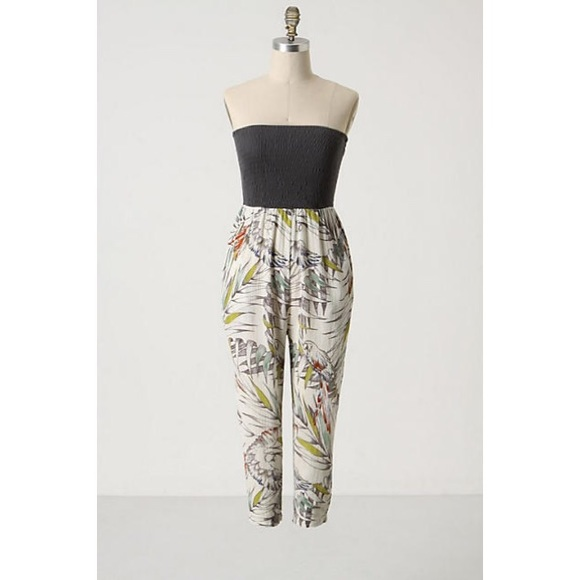 9454cb74d81e Anthropologie Pants - Anthropologie Jungle Call Convertible Romper
