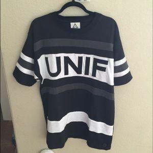 Unif logo hockey tee