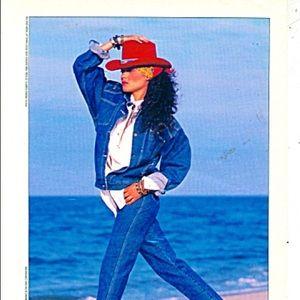 濾 Roller Disco High Waisted Gitano Jeans
