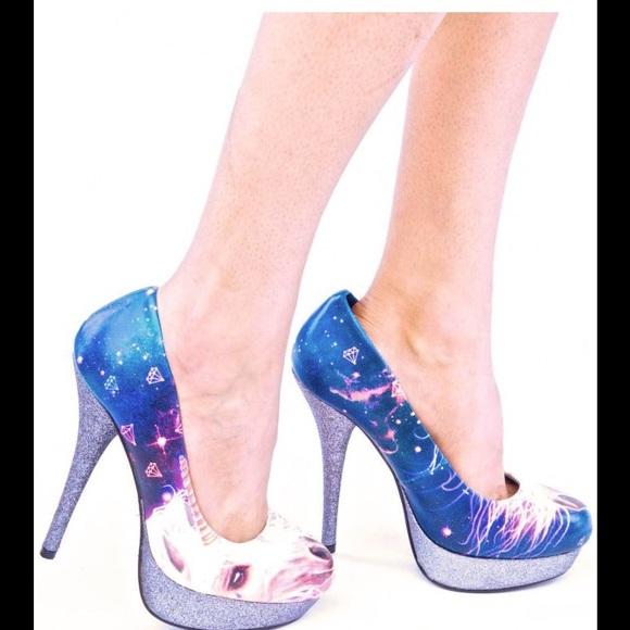 Blue Iron Fist Shoes