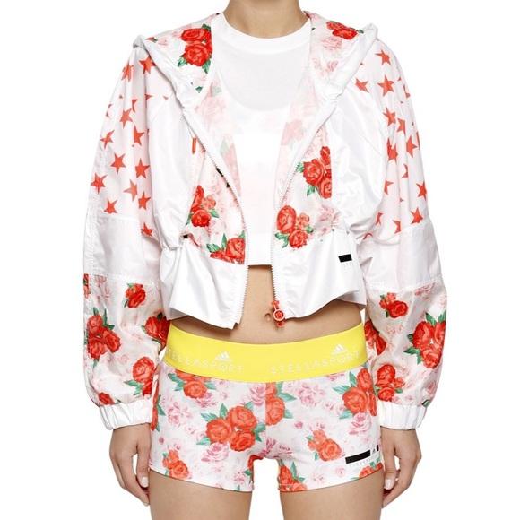 Adidas Stellasport Rose Jacket Size M