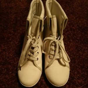 Shoes - Wedge fashion sneakers